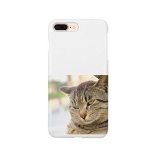猫のファンサービス Smartphone cases