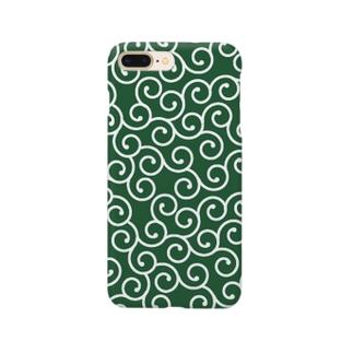 唐草模様 Smartphone cases