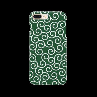 Loopの唐草模様 Smartphone cases