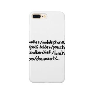 忘れ物はない? Smartphone cases