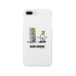 リスクヘッジするもやしくん Smartphone cases