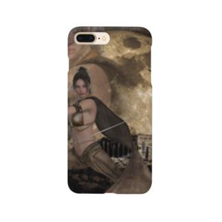 砦を護る女剣士! Smartphone cases