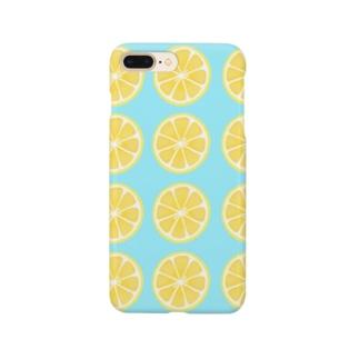 レモンがいっぱい Smartphone cases
