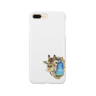 キリンさん Smartphone cases
