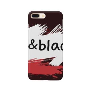 red&black Smartphone cases