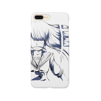 断髪 Smartphone cases