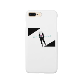 LIVE THE MOMENT ガール Smartphone cases