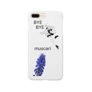 ムスカリ Smartphone cases