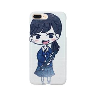 オーボエ女子 Smartphone cases