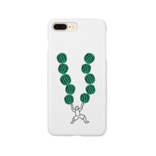 Animaletc.のすいかわっしょい Smartphone cases