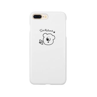 白熊shirokumaしろくま Smartphone cases