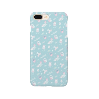 melloth×pattern_mint Smartphone cases