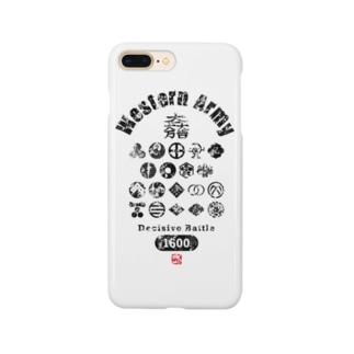 西軍 Smartphone cases