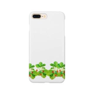 野いちご Smartphone cases