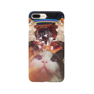 フワフワ教は宇宙をも Smartphone cases