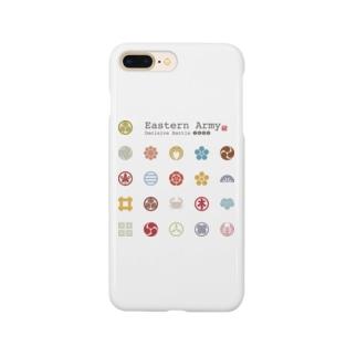 東軍モノグラム Smartphone cases