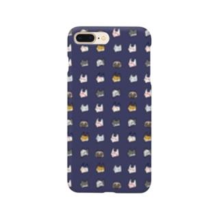 あやかしすまあとほんけゑす・紺/ Smartphone cases