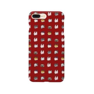 あやかしすまあとほんけゑす・臙脂/ Smartphone cases