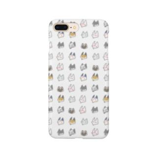 あやかしすまあとほんけゑす・白/ Smartphone cases