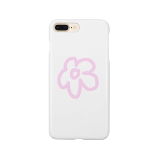 ぴんくのおはな Smartphone cases