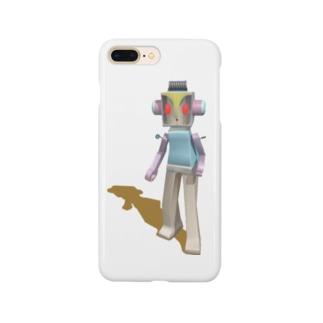 ガチャシロー Smartphone cases