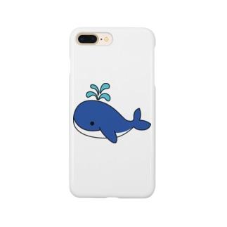 大海原のクジラ! Smartphone cases