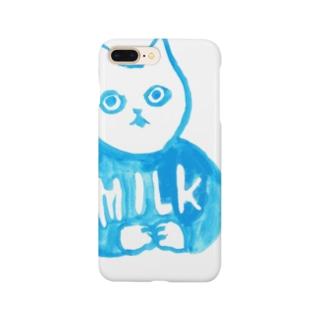 真白さん「MILK」 Smartphone cases