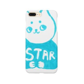 麻呂眉川さん「STAR」 Smartphone cases