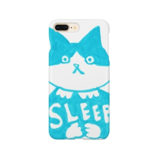 末広さん「SLEEP」 Smartphone cases