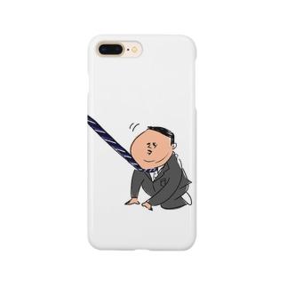 出勤イヤイヤおじさん Smartphone cases