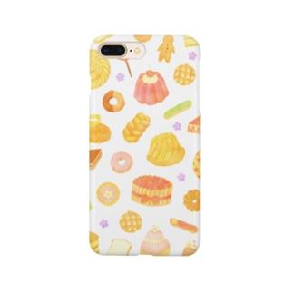 お菓子 Smartphone cases