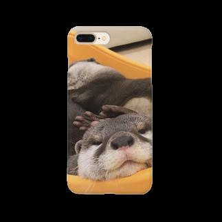 うさかふぇmimiSHOPの癒しかわうそ Smartphone cases