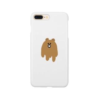 泥くま Smartphone cases