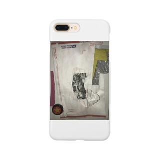 封筒の中からおっさん Smartphone cases