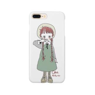 女の子シリーズ1 Smartphone cases