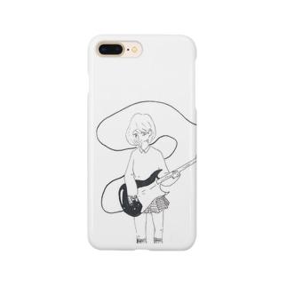 テレキャスター少女 Smartphone cases