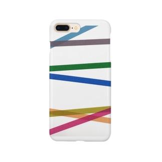 マスキングテープ暗 Smartphone cases