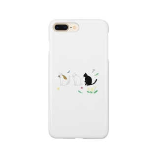 猫ごっこ-? Smartphone cases