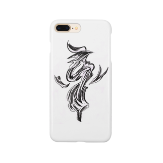 カズのお店のFormless(ブラック) Smartphone cases