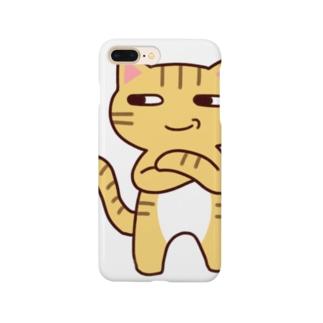 にやり猫 Smartphone cases