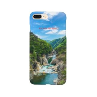 龍王峡1 Smartphone cases