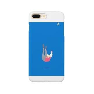 つり革を掴めなかった男の子 Smartphone cases