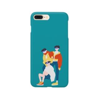 メガネトリオ Smartphone cases