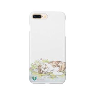 猫とスケッチブック Smartphone cases