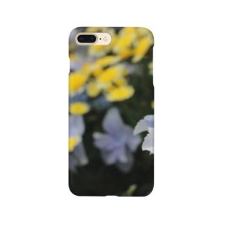 青ガクアジサイ × 黄??? Smartphone cases