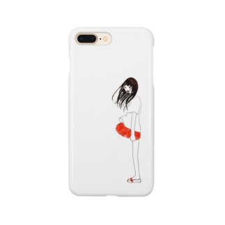 すけてるおんなのこ Smartphone cases