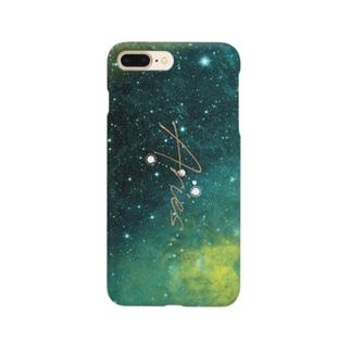 12星座シリーズ 牡羊座 Smartphone cases