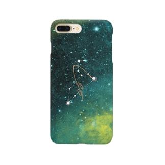 12星座シリーズ 獅子座 Smartphone cases