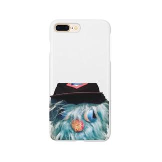 モサモサcap Smartphone cases