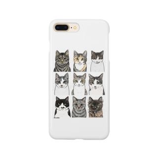 河原のニャンズ2 Smartphone cases
